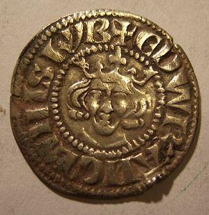 History of the English penny (1154–1485) - Edward I penny