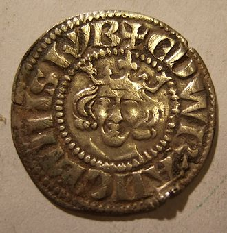 History of the English penny (1154–1485) - Edward I penny