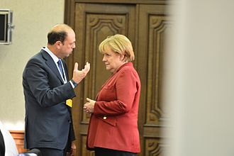 Angelino Alfano - Angelino Alfano with German Chancellor Angela Merkel.