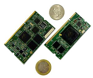 Embedded system - Image: ESOM270 e SOM300 Computer on Modules