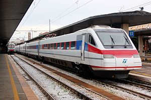 FS Class ETR 460 - Image: ETR 460 34 at Venezia Santa Lucia, 2008