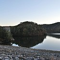 Thumbnail image of view from East Lynn Lake dam