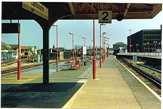 Eastbourne railway station - Eastbourne in 1994
