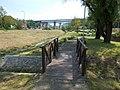 Eastern wooden footbridge (N) and Viaduct. - Fő Street, Torbágy.jpg