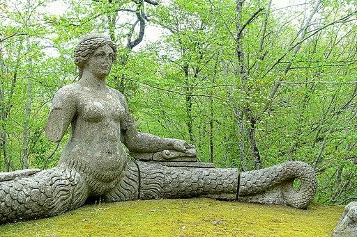 Echidna - Parco dei Mostri - Bomarzo, Italy - DSC02642