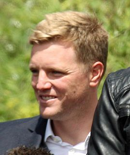 Eddie Howe English association football player and manager (born 1977)