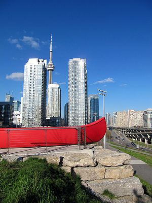 CityPlace, Toronto - Canoe Landing Park