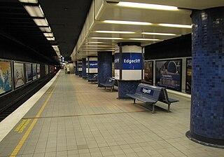 Edgecliff railway station railway station in Sydney, New South Wales, Australia