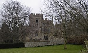 Edington Priory - Image: Edington church