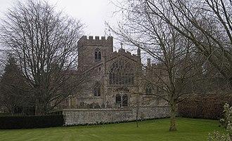 Edington Priory - Image: Edington church