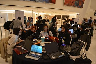 Edit-a-thon - The 72 horas con Rodin editathon in Mexico City is the longest ever held, recognized by Guinness World Records.