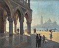 Eduard von Handel-Mazzetti Venedig Blick vom Markusplatz.jpg