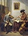Een violist en een fluitist musicerend Rijksmuseum SK-A-325.jpeg