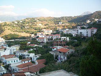 Icaria - Evdilos village.