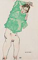 Egon Schiele - Vor dem Spiegel - 1913.jpeg