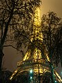 Eiffel Tower + snow (8399513527).jpg