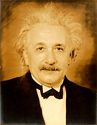 Portrait of Einstein taken in 1935 at Princeton Einstein-formal portrait-35.jpg