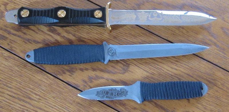 Carbon Steel Kitchen Knives Set