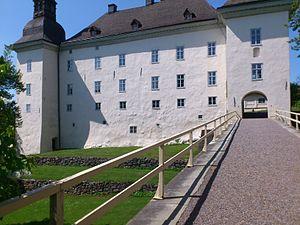 Ekenäs Castle - The Ekenäs Castle seen from the bridge.