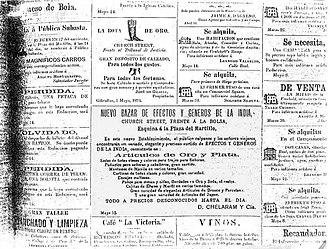 El Calpense - Image: El Calpense 1894, notices