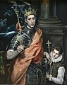 El Greco (1541-1614) - St. Louis and his page (2359563278).jpg