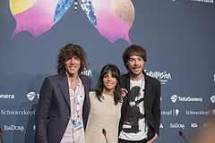 El Sueño de Morfeo, ESC2013 press conference 02.jpg