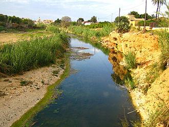 El Verger - Image: El verger riu girona