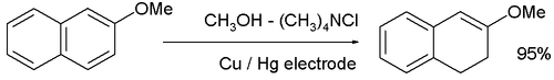 Electrosynthesis tetral