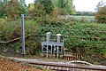 Elevated relay cabinets beside the railway at Kilsby - geograph.org.uk - 1545126.jpg