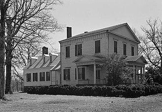 Elgin (Warrenton, North Carolina) - Elgin, HABS Photo, 1940