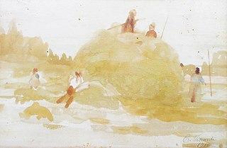 Colheita do feno - Saint Hubert