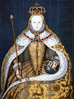 Elizabeth I in coronation robes.png