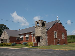 Elwood, Iowa - Elwood United Methodist Church