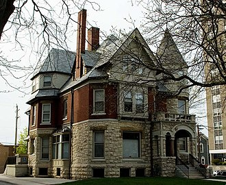 National Register of Historic Places listings in Milwaukee - Image: Emanuel D Adler House May 10