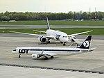 Embraer 195, SP-LNC, Polish Airlines LOT (26367531050).jpg