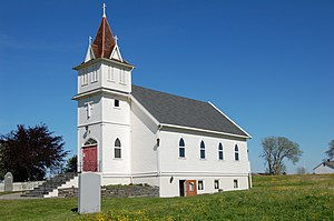 Sargent County, North Dakota - the former Brampton Lutheran Church