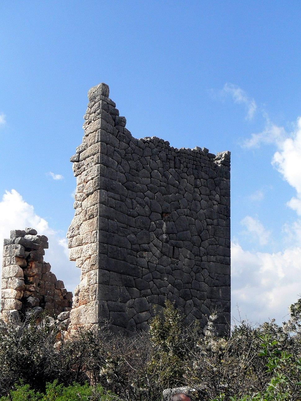 Emirzeli Hellenistic tower, Mersin Province, Turkey