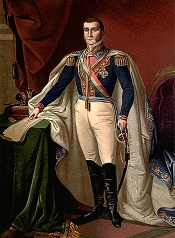 Emperador Agustin I de Mexico