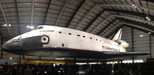 Endeavour at California Science Center