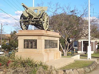 Enfield, New South Wales - War Memorial, Liverpool Road