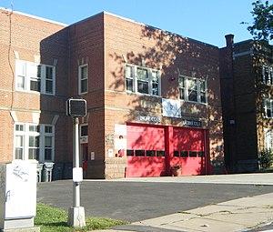 Hartford Fire Department - Image: Engine Co 15 Fire Station Hartford CT