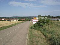 Entrée d'agglomération Autrey.jpg