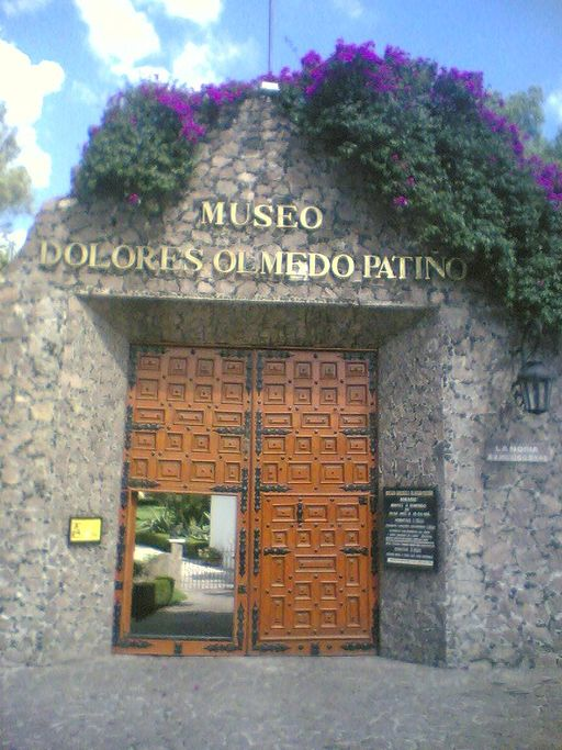 Entrada del Museo dolores olmedo patiño best Mexico City museums