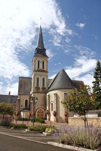 Saint-Étienne Church (Entrammes) - Image: Entrammes Eglise St Etienne