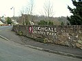 Entrance sign at Loughgall Country Park - geograph.org.uk - 1706968.jpg