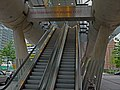 Entrance to the tube of The Hague, Beatrix-kwartier, high resolution image by FotoDutch, June 2013.jpg