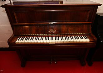 Sébastien Érard - 1914 Érard upright piano made in London