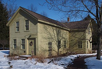 National Register of Historic Places listings in Washington County, Minnesota - Image: Erastus Bolles House