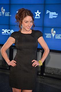 Erin Karpluk Canadian actress