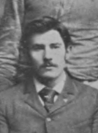 Ernest Brown (coach) - Brown pictured in The Pandora 1894, Georgia yearbook